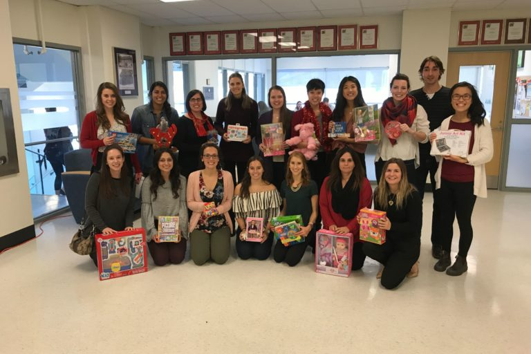 Kingston Holiday Toy Drive.